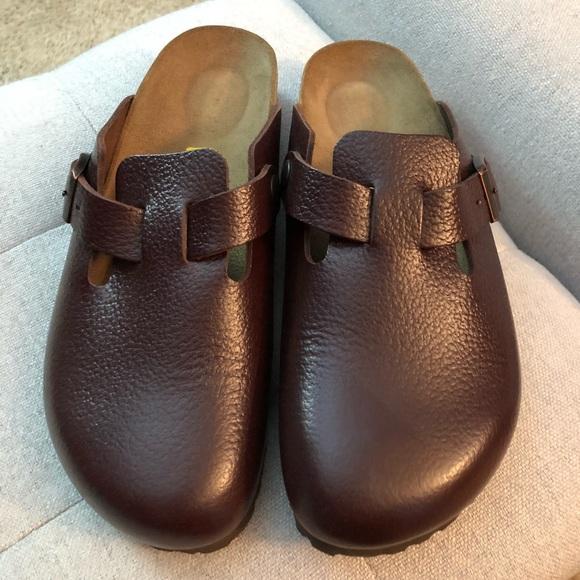 9cc39607dd8 Birkenstock Shoes - Birkenstock Boston brown clog new size 40 narrow